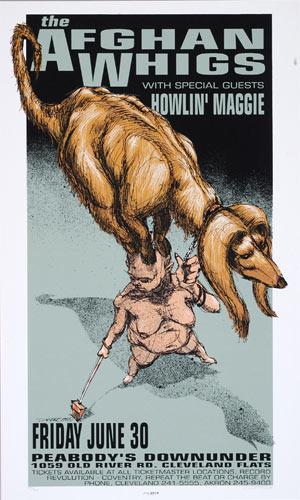 Derek Hess Afghan Whigs Poster
