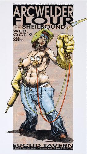 Derek Hess Arcwelder Poster