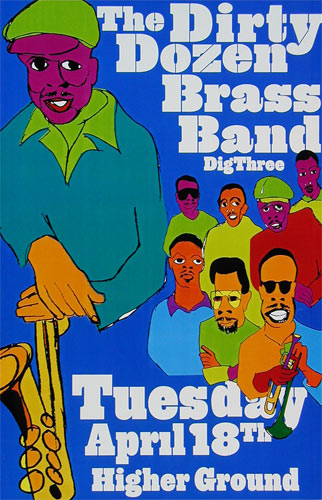 Dirty Dozen Brass Band Poster