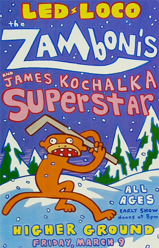 The Zambonis Poster