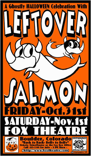 Jeff Holland Leftover Salmon Poster
