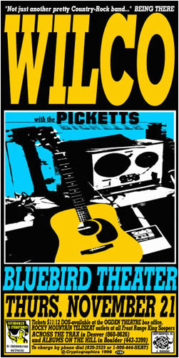 Jeff Holland Wilco Poster