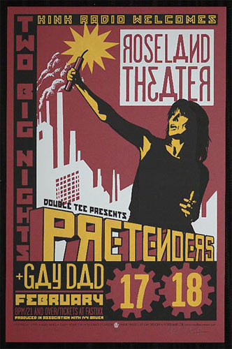 Gary Houston and Mike King The Pretenders Poster