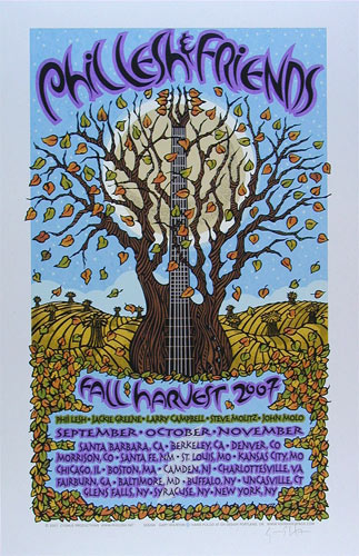Gary Houston Phil Lesh & Friends Poster