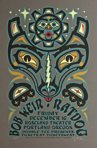 Gary Houston Bob Weir Poster