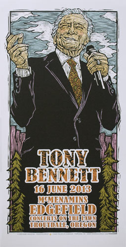 Gary Houston Tony Bennett Poster