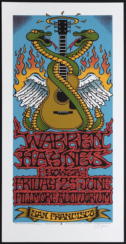 Gary Houston Warren Haynes Poster