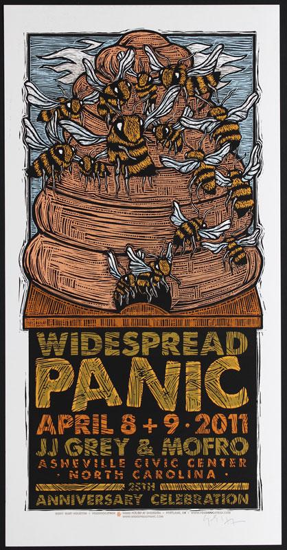 Gary Houston Widespread Panic Poster
