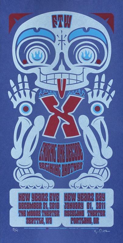 Gary Houston X Poster
