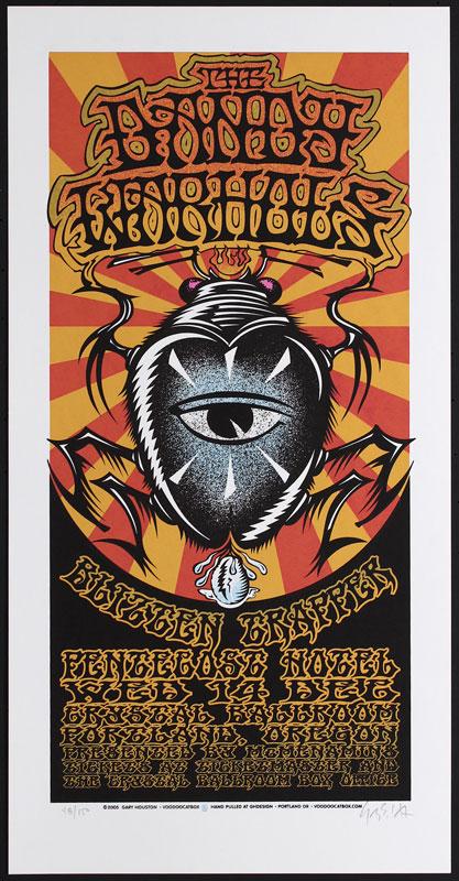 Gary Houston Dandy Warhols Poster