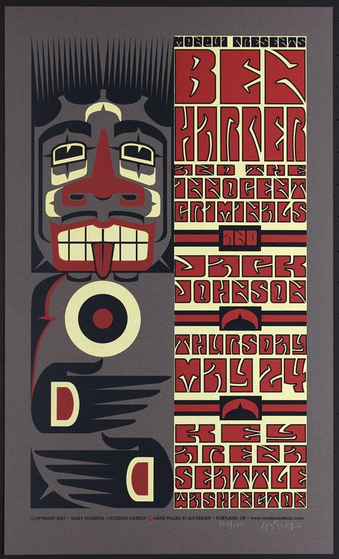 Gary Houston Ben Harper Poster