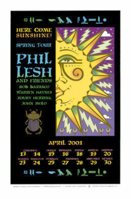 Gary Houston Phil Lesh and Friends Poster