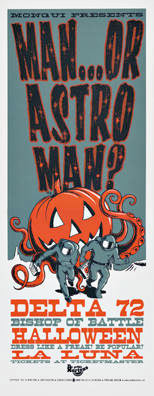 Mike King Man Or Astroman Poster