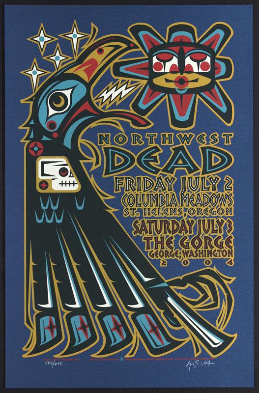 Gary Houston The Dead Poster