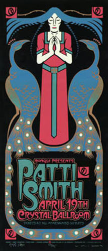 Gary Houston Patti Smith Poster