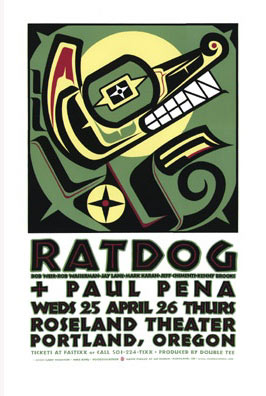 Gary Houston Ratdog Poster