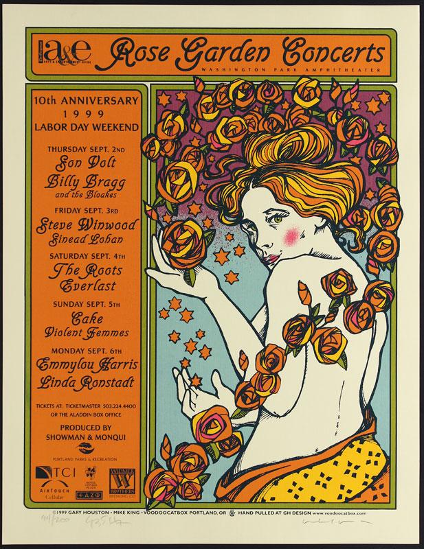 Gary Houston Violent Femmes Poster