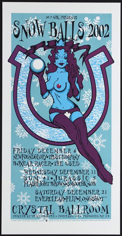 Gary Houston Snow Balls 2002 Poster