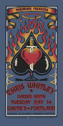Gary Houston Chris Whitley Poster