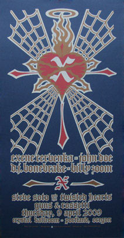 Gary Houston X (Spiderweb) Poster