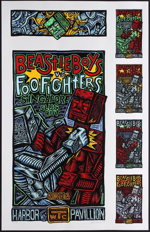 John Howard Beastie Boys Uncut Proofsheet