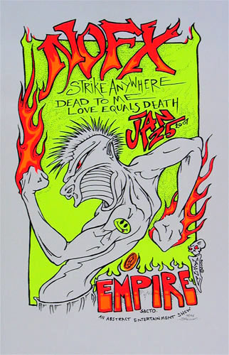 Paul Imagine NOFX Poster