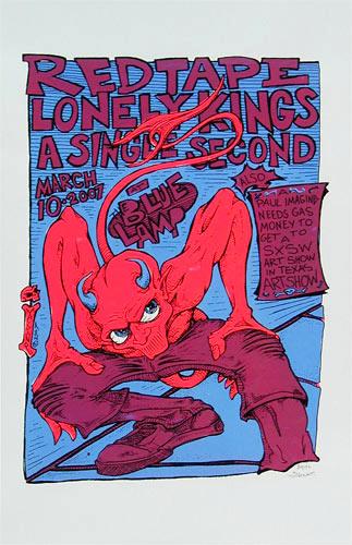 Paul Imagine Red Tape Poster
