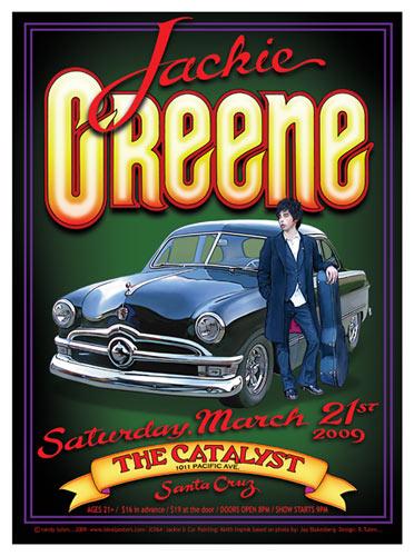 Randy Tuten Jackie Greene Poster
