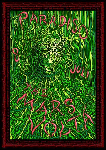 John Seabury The Mars Volta Poster