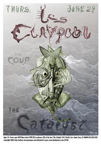 John Seabury Les Claypool Poster