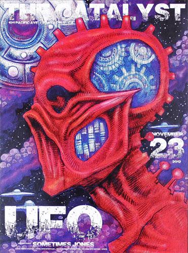 Chris Conroy UFO Poster
