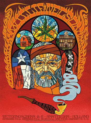 Chuck Sperry Willie Nelson Poster