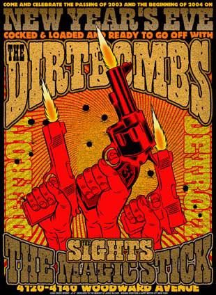 Chuck Sperry Dirtbombs Poster