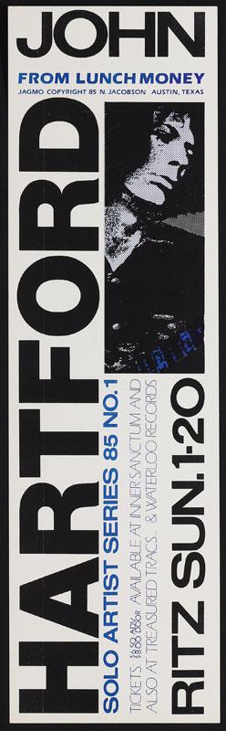 Jagmo - Nels Jacobson John Hartford Poster