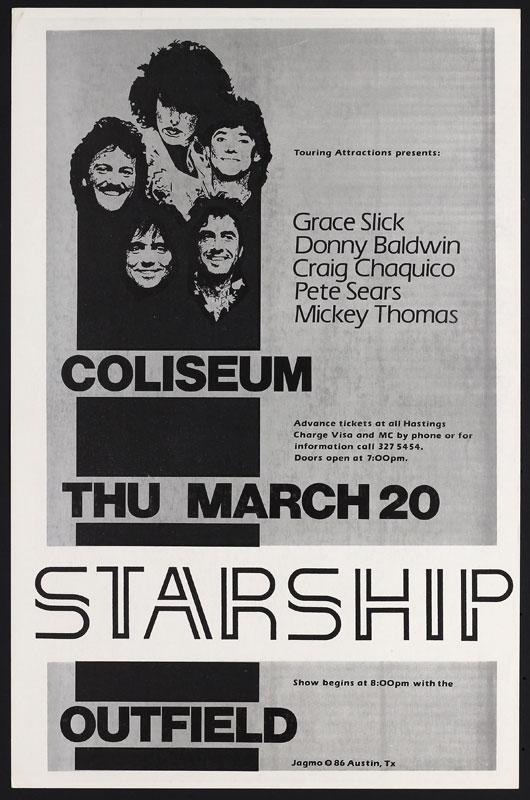 Jagmo - Nels Jacobson Jefferson Starship Poster