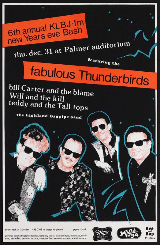 Jagmo - Nels Jacobson Fabulous Thunderbirds Poster