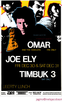 Jagmo - Nels Jacobson Omar & the Howlers Poster