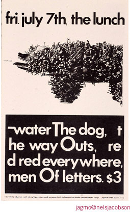 Jagmo - Nels Jacobson Water the Dog Poster