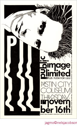 Jagmo - Nels Jacobson Public Image Limited Poster