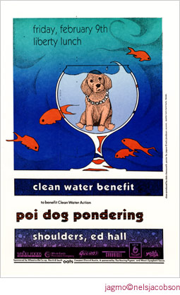 Jagmo - Nels Jacobson Poi Dog Pondering Poster