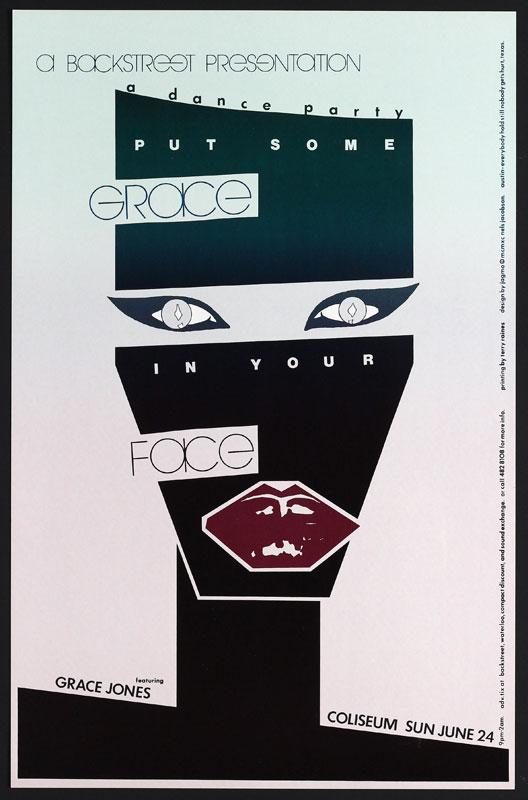 Jagmo - Nels Jacobson Grace Jones Poster