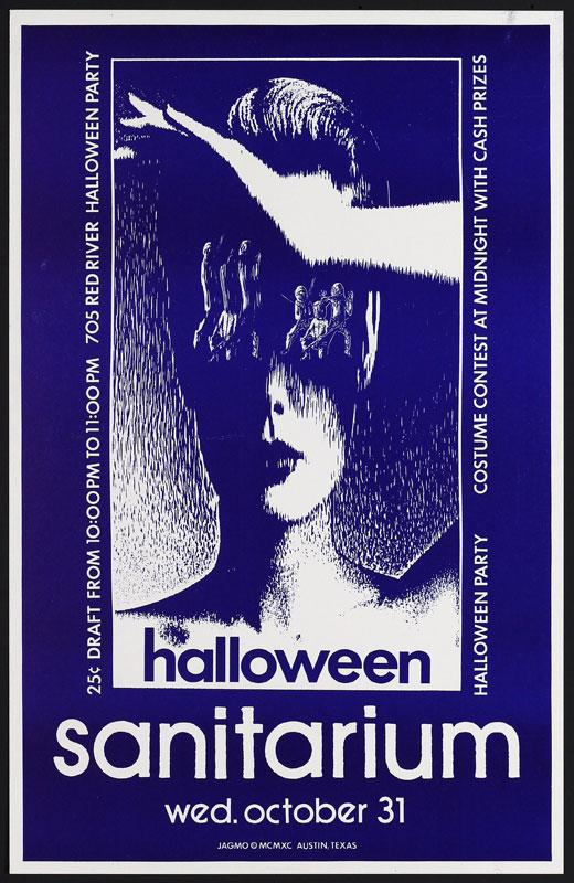 Jagmo - Nels Jacobson Sanitarium Halloween Party Poster
