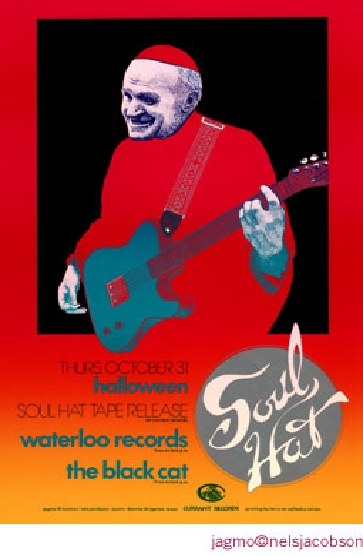 Jagmo - Nels Jacobson Soul Hat Poster
