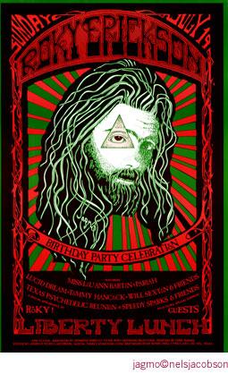 Jagmo - Nels Jacobson Roky Erickson Poster