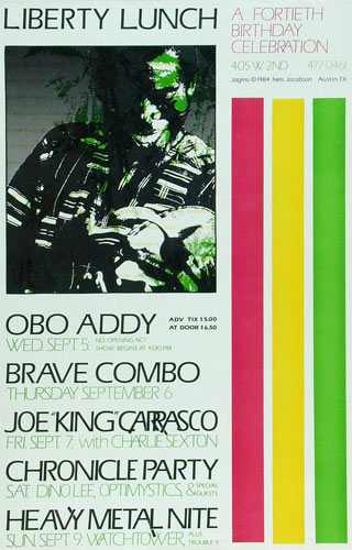 Jagmo - Nels Jacobson Obo Addy Poster