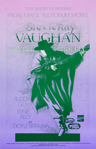 Jagmo - Nels Jacobson Stevie Ray Vaughan Poster
