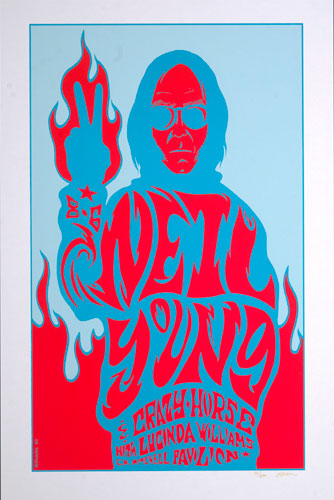 Jermaine Rogers Neil Young Poster