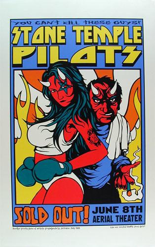 Jermaine Rogers Stone Temple Pilots Poster