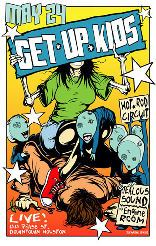 Jermaine Rogers Get Up Kids Poster