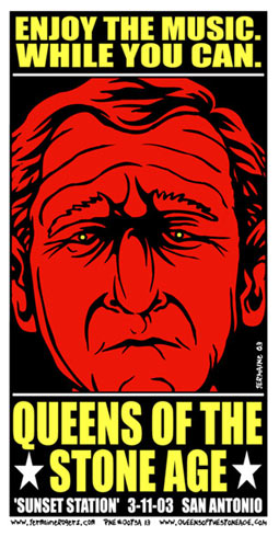 Jermaine Rogers Queens Of The Stone Age Poster